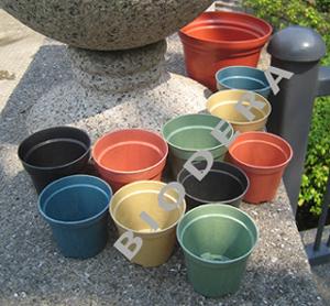 100% Organic Flower Pots (100% Organic Цветочные горшки)