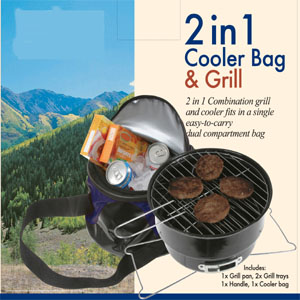 2 In 1 Cooler Bag & Grill (2 В 1 Cooler Bag & Гриль)