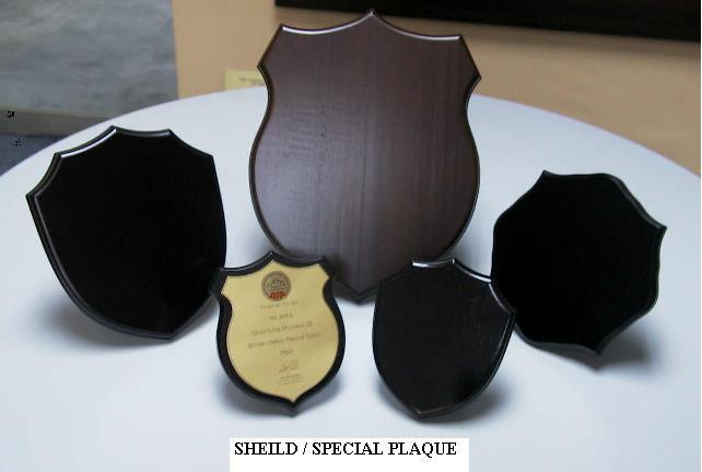 Wooden Shield & Plaque (Wooden Shield & Plaque)