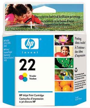 Original Ink Cartridge For HP 22 (C9352a) (Оригинальные чернила картриджей HP 22 (C9352a))