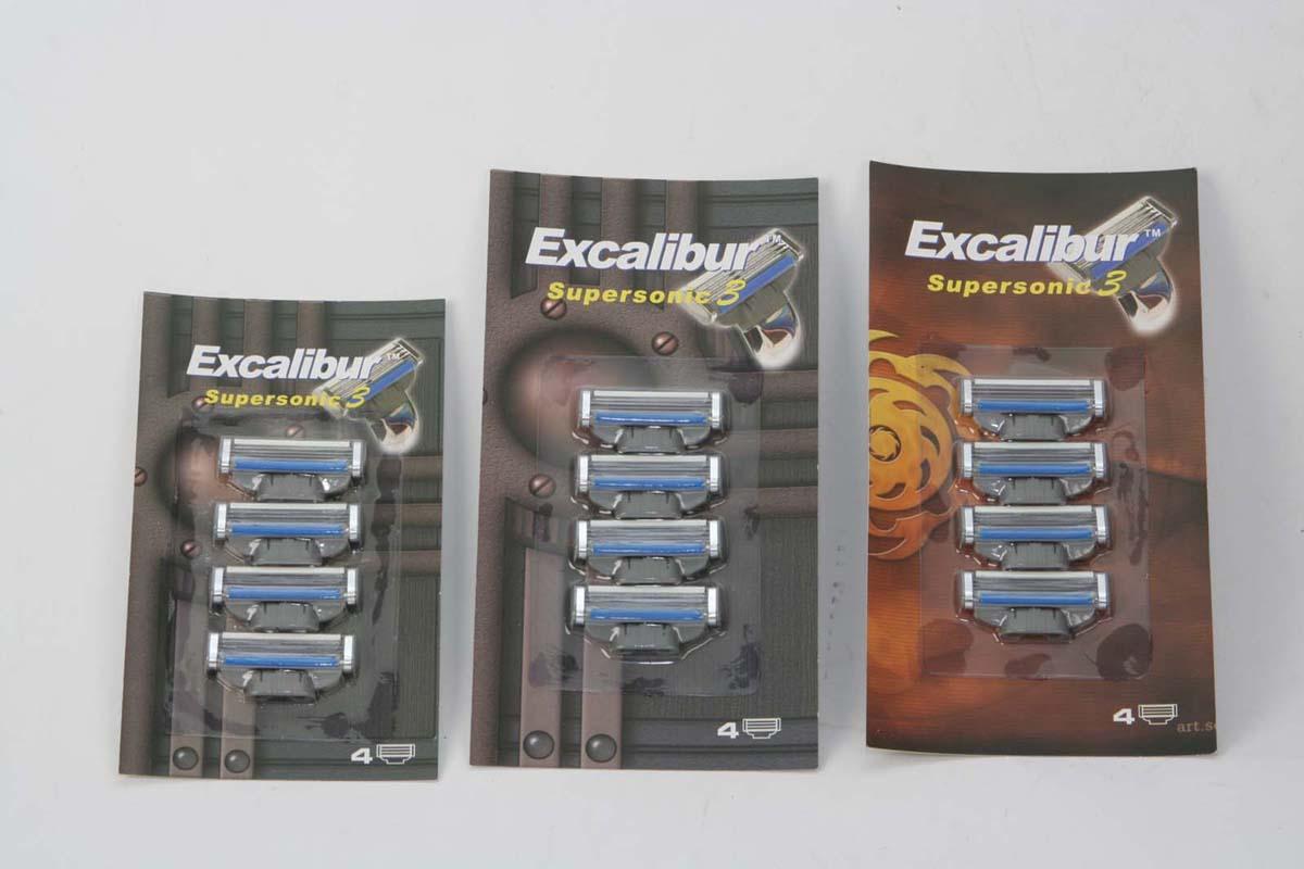Razor Blades Compatible For Gillette Handle (Razor Blades совместима с Gillette ручки)