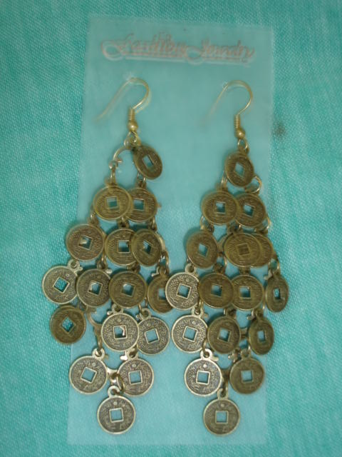 Coins Earring