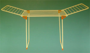 Winged Laundry Drying Hanger (Winged blanchisserie Séchage Hanger)