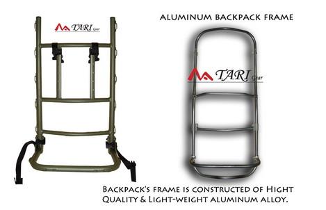 Aluminum Alloy Welded Backpack Frame