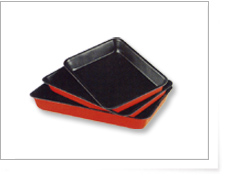 3 Pcs Square Cake Pan Set (3 шт площади Cake Pan Set)