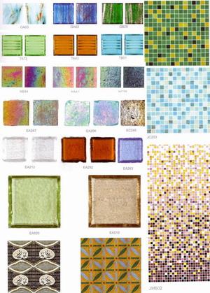 Gold Link Series ( Glass Mosaic ) (Золото Link серии (Стеклянная мозаика))
