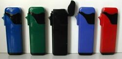 Plastic Electronic Windproof Gas Lighters (Электронные пластиковые ветрозащитный зажигалка)