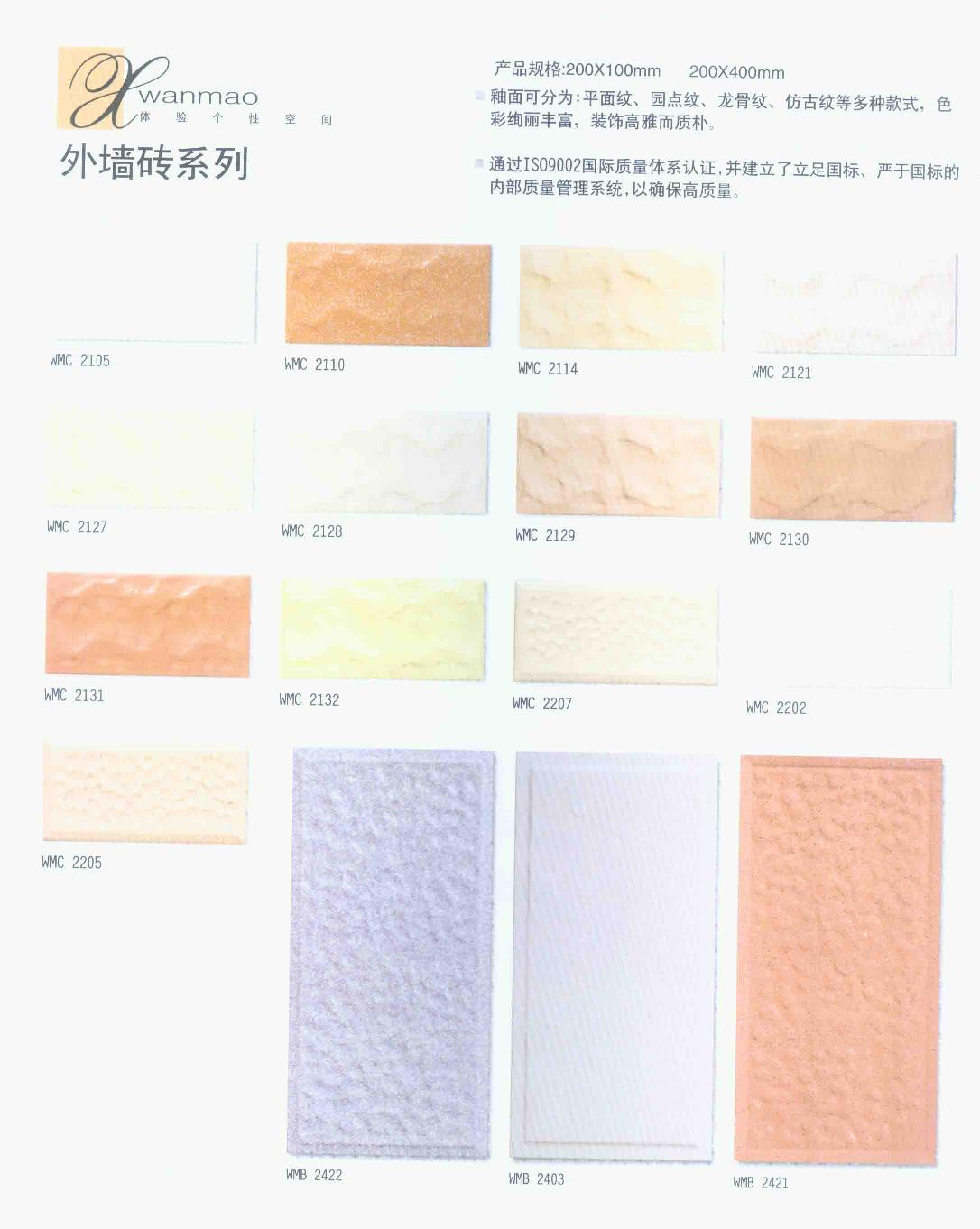 Outer Wall Tile (Наружную стену плиткой)