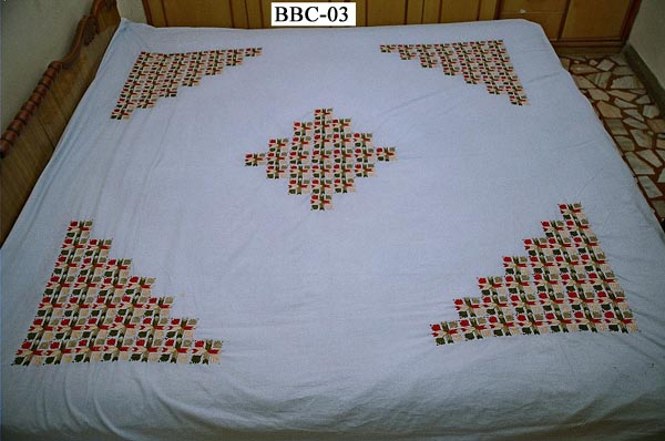 Embroidered Bed Cover (Вышитый перину)