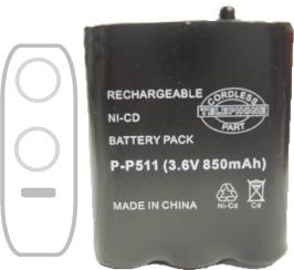 Cordless Phone Battery Packs (Cordless Phone Батарейные блоки)