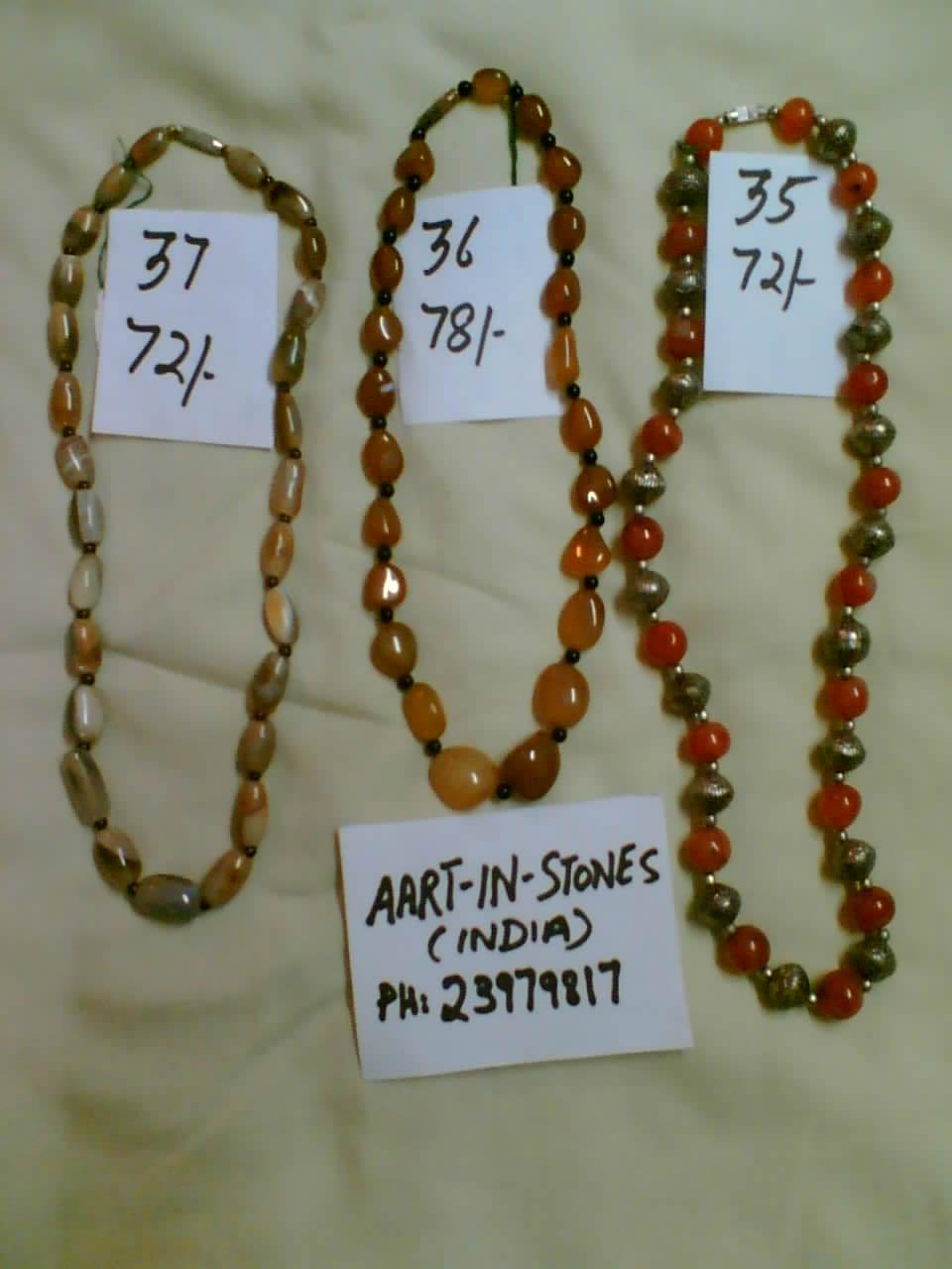 Semi-precious Stone Necklaces (Halbedelstein Halsketten)