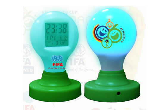 Magic-Bulb Digital Alarm Clock (Magic-лампа Цифровой будильник)