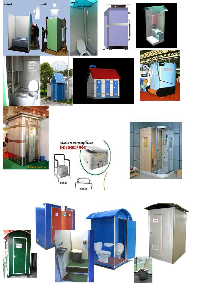 Mobile Portable Toilets & Sauna Shower