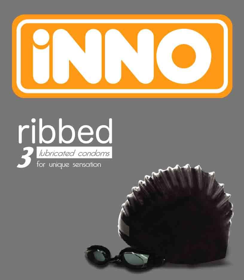 Inno Ribbed Condom (Inno ребристые презервативы)