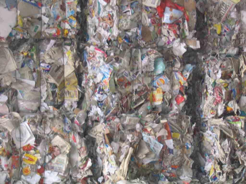 Mixed Waste Paper (Смешанных отходов бумаги)