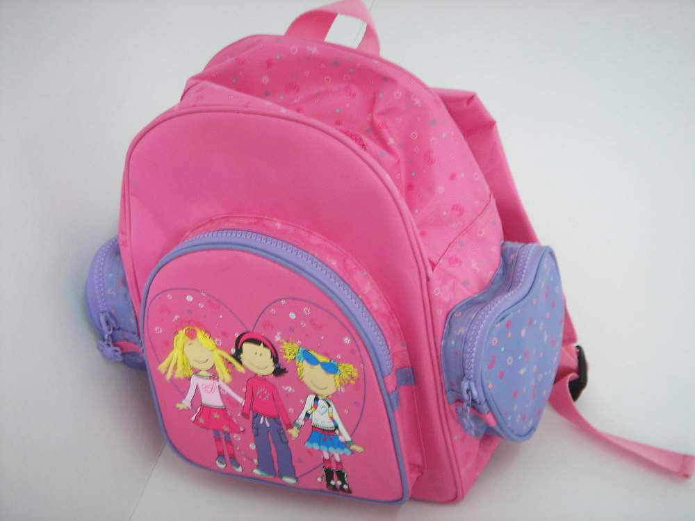 Children`s School Bag With Cartoon Patterns ()