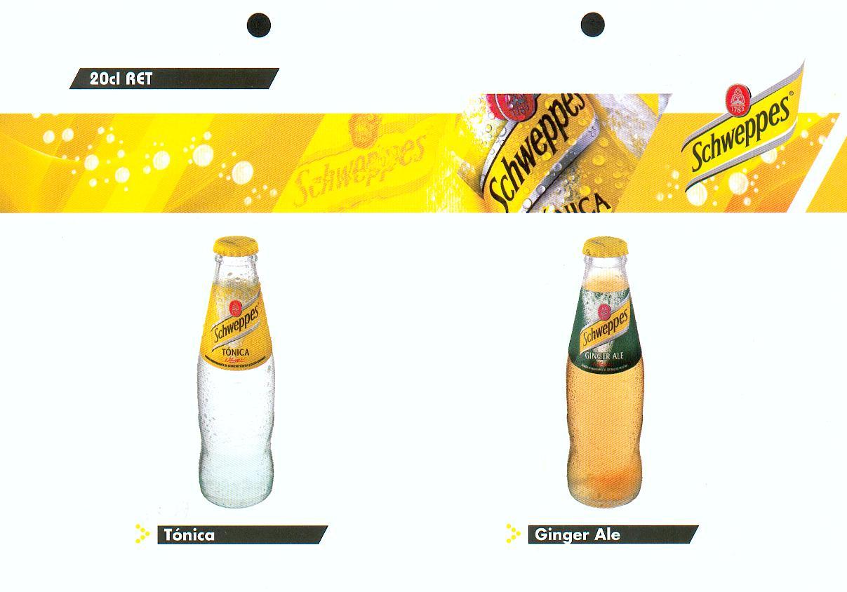 Schweppes Glass Bottles