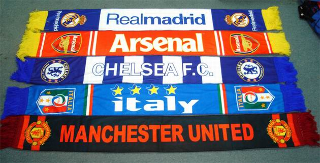 Soccer / Football Team Scarf (Футбол / Футбольная команда Шарф)