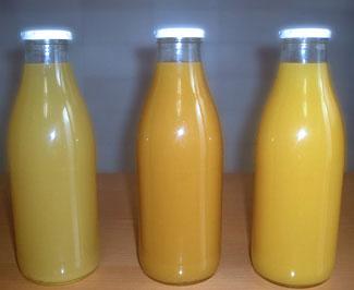 Nectars And Fruit Juices With Different Flavours (Nectars et les jus de fruits avec des saveurs différentes)