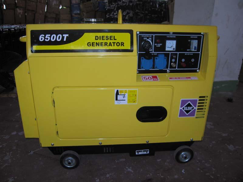 5kw Silent Diesel Generator Set (5kW Silent Diesel Generator Set)