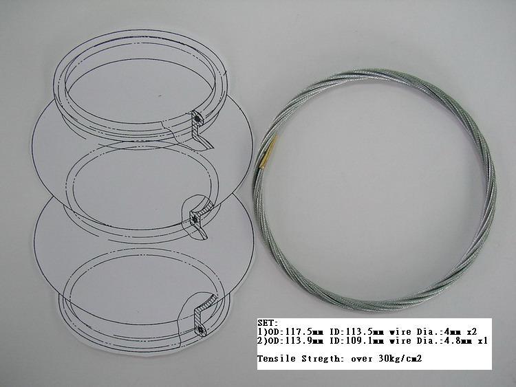 Tensile Ring For Air Bag Suspension (Предел кольцо для подвески Air Bag)