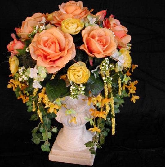 Vase Artificial Flower Arrangement - Compare Prices, Reviews and