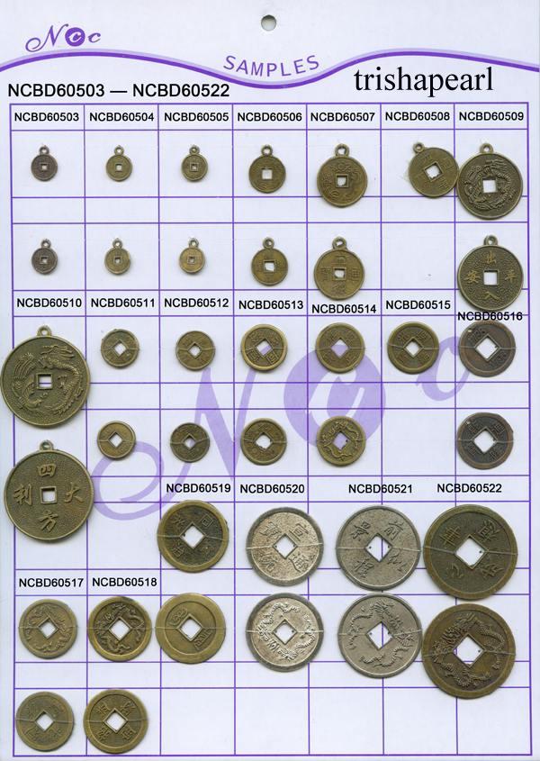 Imitate Chinese Coin, Handicraft Product (Подражать китайские монеты, кустарного продукта)