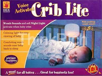 Baby Back To Sleep-New Cry Activated Crib Light (Baby Come Back To Sleep-New Cry Aktiviert Kinderbett Light)