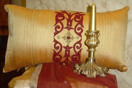 Silk and Velvet Cushion Covers (Шелк и бархат наволочки)