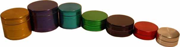 Space Case Coloured Grinders & Pollen Grinders (Пространства дела цветные шлифмашины & Пыльца шлифмашины)