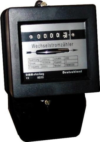 RMM230 Mechanical kWh meter (RMM230 Механические кВтч метро)