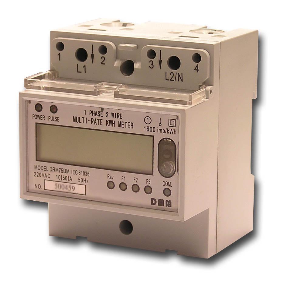 Single Phase KWh Meter Multi Tariff (Однофазное кВтч Meter Multi тарифе)