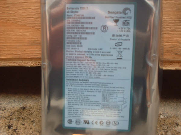 Refurbished Seagate HDD (Refurbished Seagate HDD)