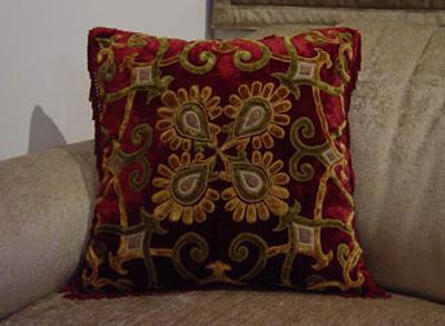 Velvet Patched Cushion Covers (Velvet Патч наволочки)