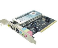 PCI TV Tuner Card With Philips7130 Chipset With Remote (PCI TV тюнер с Philips7130 чипсет с удаленным)