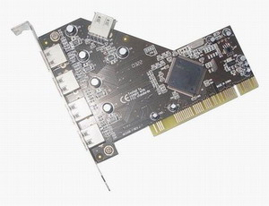 PCI USB2.0 4 And 1Port Card (PCI USB2.0 4 И 1PORT карты)