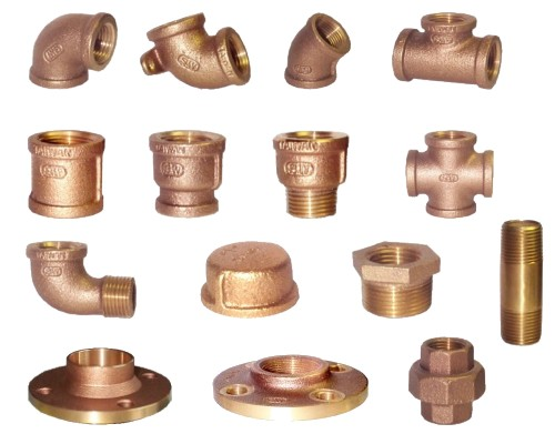 Bronze Pipe Fitting (Bronze-Armaturen)