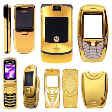 Golden Alloy Mobile Phone Case Suit (Golden Alloy Mobile Phone Case Suit)