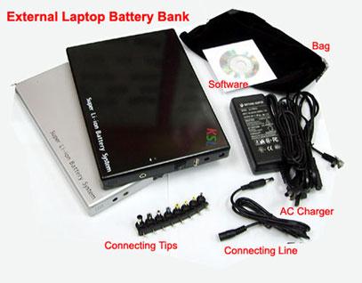 External Laptop Battery (Внешний аккумулятор ноутбука)