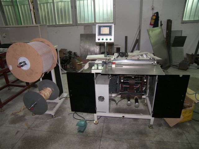 Semi-Automatic Double Wire Binding Machine (Semi-Automatic Double Wire Binding M hine)