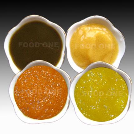 Plum Puree, Pumpkin Puree, Carrot Puree, Peach Puree (Слива пюре, тыква пюре, морковное пюре, пюре персика)