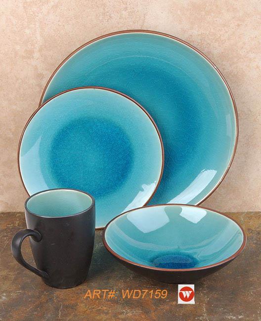 Crack Glaze Dinnerware (Треск Гололед Посуда)