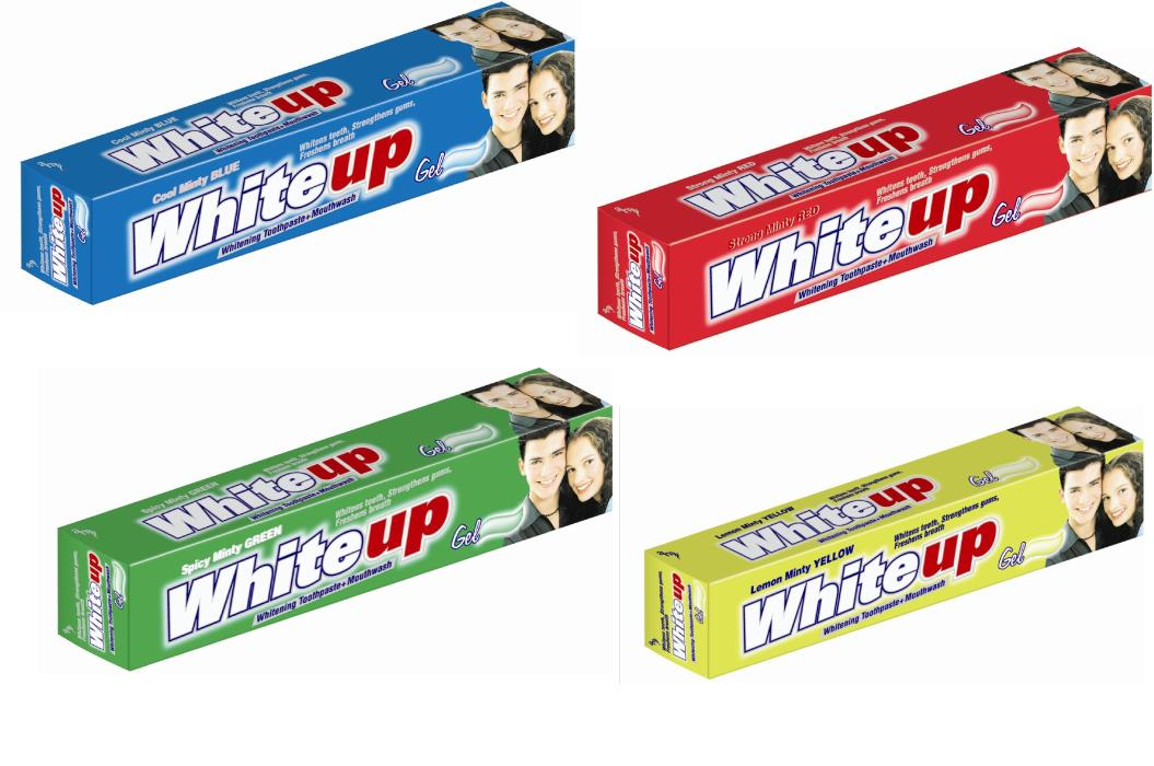 White Up Toothpaste (Blanc Jusqu`à Dentifrice)