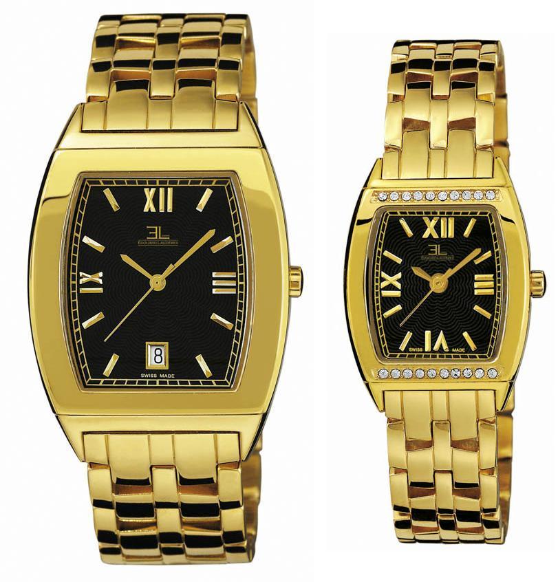 Swiss Made Montres Edouard Lauzieres Quartz Watch Set (Swiss Made Montres Эдуард Lauzieres Кварцевые часы Установить)