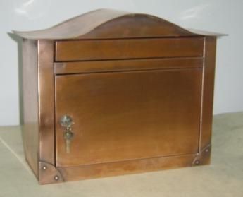 Copper Home Mailbox (Медные главного почтового ящика)