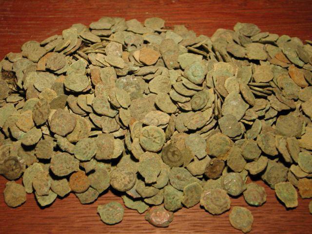 1000 Ancient Widows Mites Coins