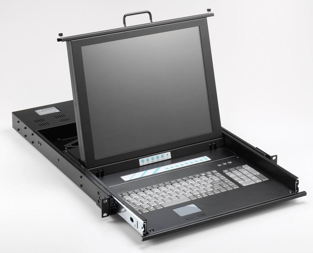 Rackmount Monitor Keyboard KVM Drawer (Стойку монитора клавиатуры KVM Drawer)