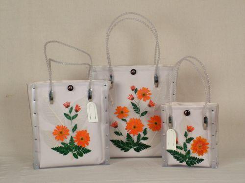 Plastic Flower Laminated Bags (Цветочные пластиковые ламинированные мешки)