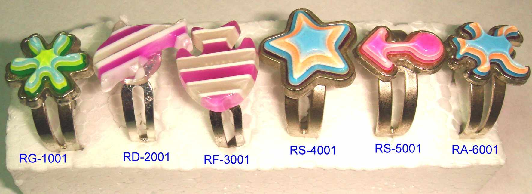 Poly Or Acrylic Finger Ring (Poly-oder Acryl-Ringe)