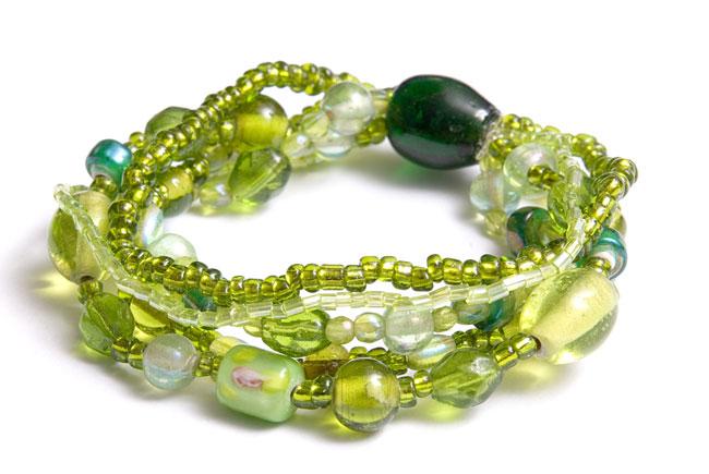 Modisches grünes Armband (Modisches grünes Armband)